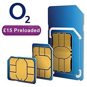 Order your free O2 sim card
