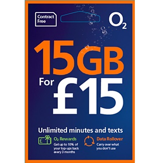 Order your free O2 sim card