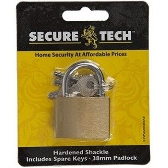 38mm Body Safety Padlock Locker with spare key