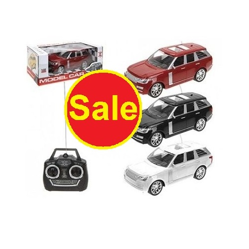 Toy Remote Control Car With Remote Control  Age 3 To Up
