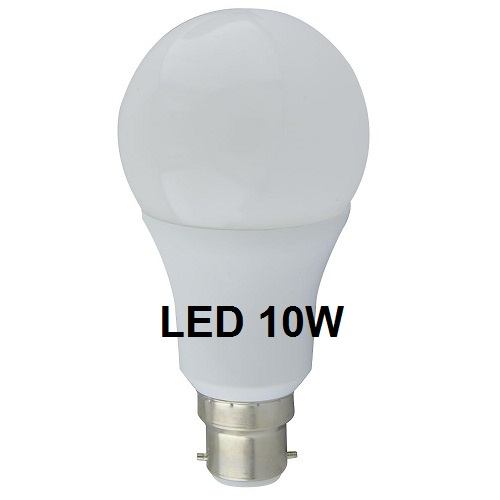 Light bulb LED 10W GLS B22 BULB 806LM NON DIMMABLE
