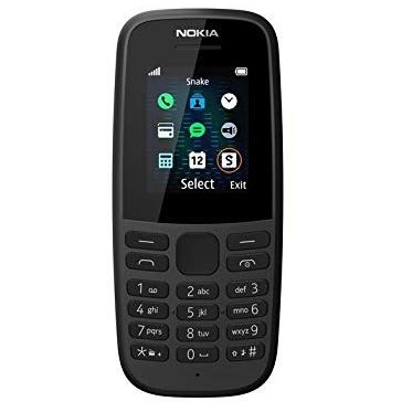 Mobile phone Nokia 105 Single SIM Black (4th edition)