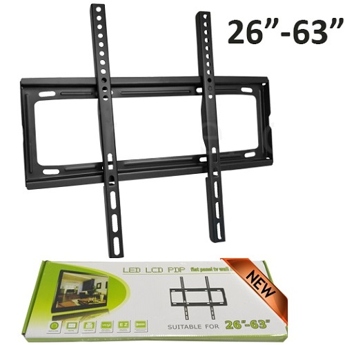 Tv Wall Mount Bracket For  Lcd Led Plasma 26-63 Inches Slim Flat