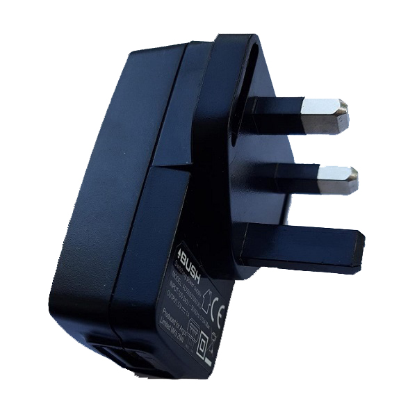 Charger USB Adapter black 5v 1A
