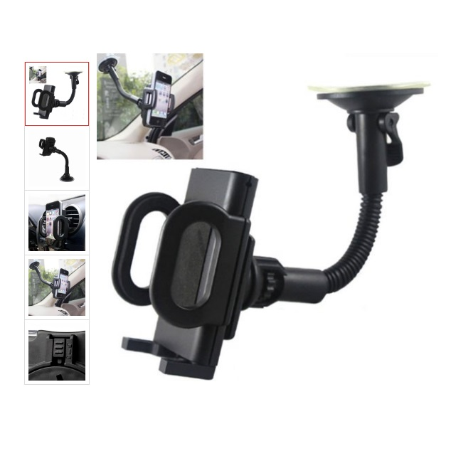 Phone Holder In Car Windscreen Suction Mount, Air Vent Holder