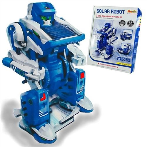 Toy Solar Powered Robot 3 in 1