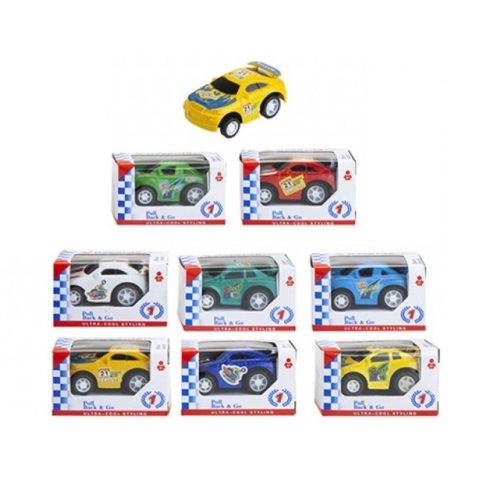 Toy Mini Pullback Racer car