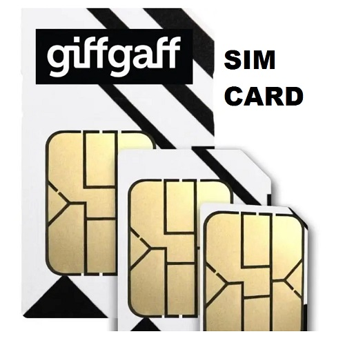 SIM CARD Giffgaff pay as you go sim card