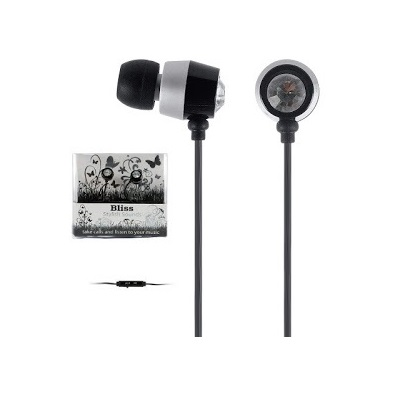 Bliss earphone black diamond