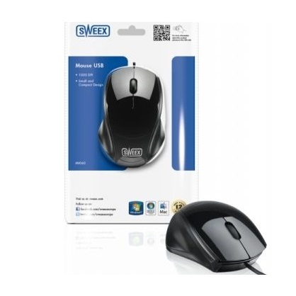Sweex USB Mouse for Laptop , computer etc