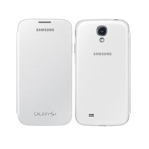 Samsung Galaxy S4 flip case white